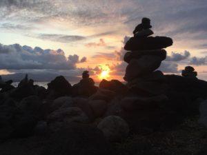 Coucher de soleil lors de vacances aux Açores - globetrottair.ch