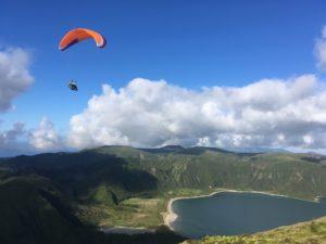 Séjours de parapente aux Açores avec globetrottair.ch