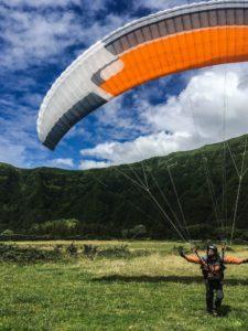 Parapente aux Açores - globetrottair.ch