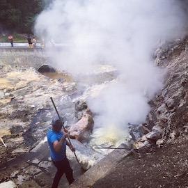 Visite d'un site volcanique, Açores - globetrottair.ch