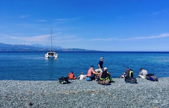 Sortie en voilier en Corse