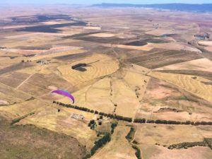 Parapente distance en Afrique