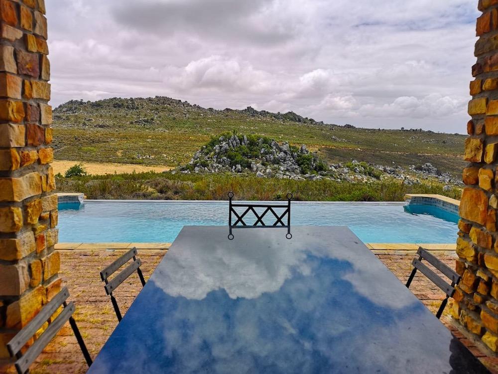 Reflet de nuages en Afrique