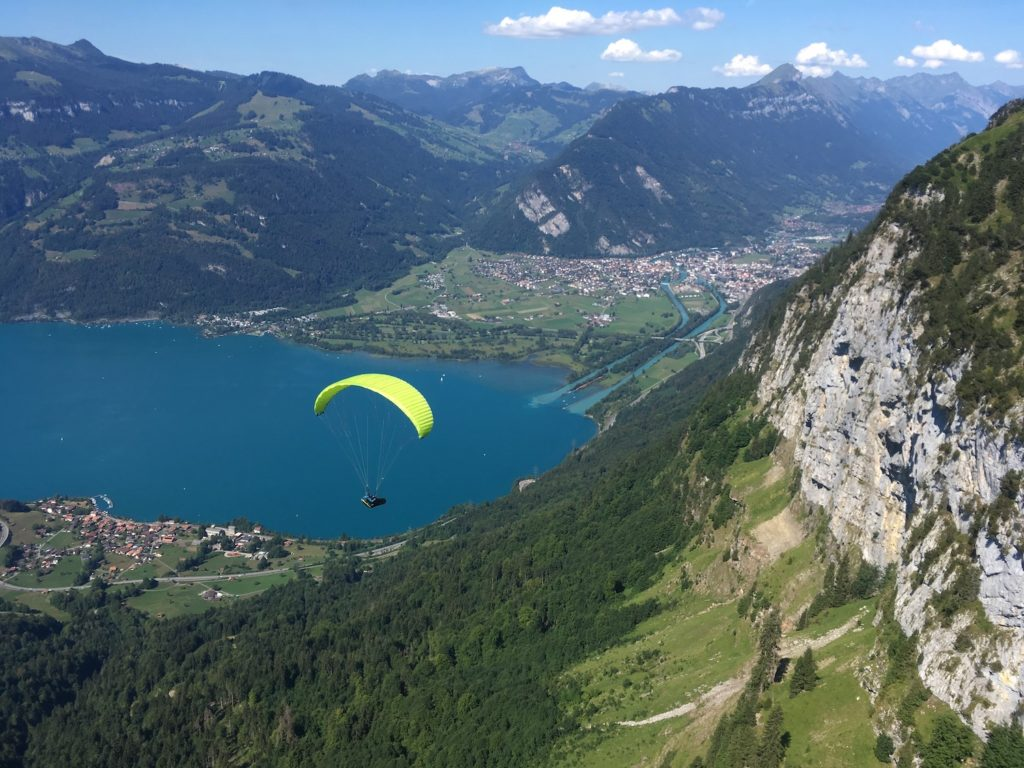 Parapente à Interlaken