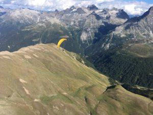 Stage de parapente en Suisse