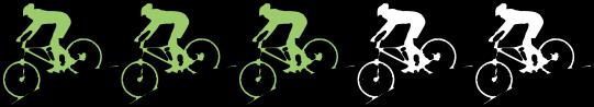 Niveau de vélo moyen