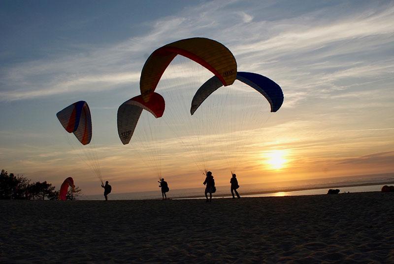 Vacances parapente à la Dune du Pilat