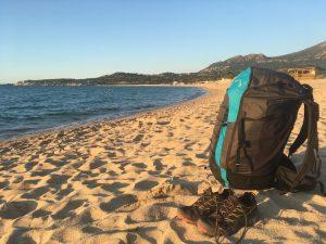 Parapente sur la plage