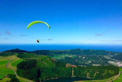 Voyages parapente aux Açores