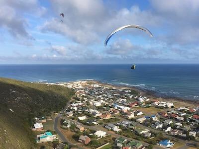 Parapente en Afrique du Sud