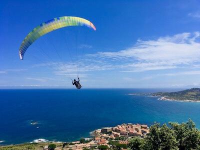 Voyage de parapente en Corse