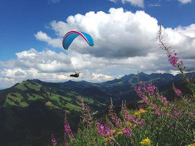 Vacances de parapente en Suisse