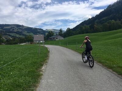 Vacances à vélo électrique en Suisse