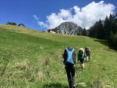Vacances de hike and fly en Suisse