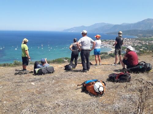 Parapente à Saint-Florent en Corse