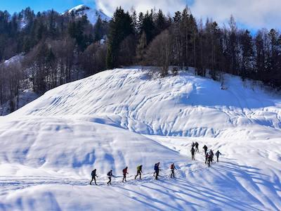 Vacances hypnose et raquette en Suisse